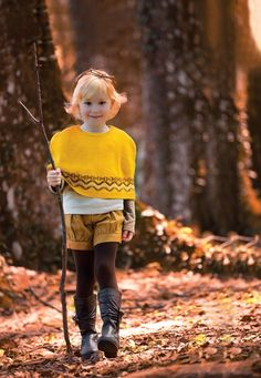 Woodland inspiration for kids fashion by Poney from Malaysia for fall 2013