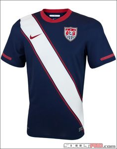 Nike USA Away Soccer Jersey 2010-2011...$55.99