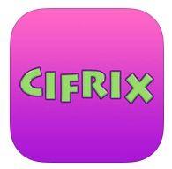 CIFRIX http://www.jufjannie.nl/2013/03/30/cifrix-app-review/ CIFRIX is een spannend en uitdagend rekenspel waarbij het hoofdrekenen gestimuleerd wordt. Probeer zo snel mogelijk een gegeven uitkomst te maken door op te tellen, af te trekken, te vermenigvuldigen en te delen. Train je snelheid en rekenvaardigheid en zet een top score neer. De tijd per opgave wordt steeds minder waardoor de uitdaging steeds groter wordt. CIFRIX is een rekenspel waar je slimmer van wordt en dat leuk blijft!