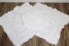 Vintage Bettwäsche - 2 antike Paradekissen   Spitze vintage - ein Designerstück von MonAmi_e bei DaWanda Linen Sheets, Designer, White Shorts, Ruffle Blouse, Etsy, Vintage, Tops, Women, Fashion