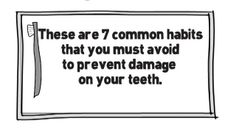 7 Habits That Harm Your Teeth And How Your Dentist In Ballarat Can Help You  Visit us on http://cbddentalballarat.com.au