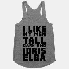 I need this Idris Workout shirt