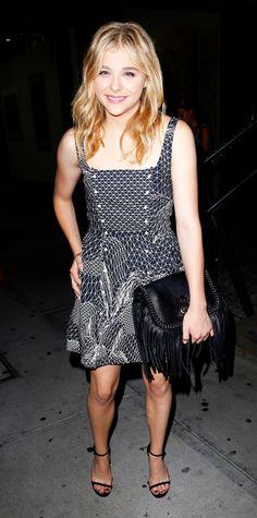 Chloe Grace Moretz's Best Street Style Looks - June 17, 2014 from #InStyle