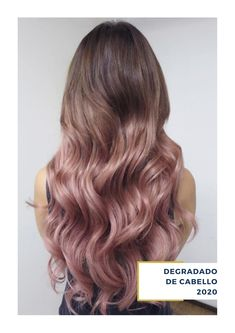 What Is Balayage - The Difference Between Balayage and Ombre (Definitive Guide) - The Trending Hairstyle Brown And Pink Hair, Light Pink Hair, Pink Ombre Hair, Pastel Hair, Cabelo Rose Gold, Pinterest Hair, Balayage Hair, Rose Gold Balayage, Short Hair