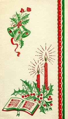 Pretty candle card.