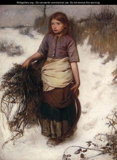 British Paintings: Winter - Frank Holl