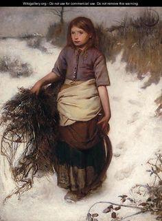 British Paintings: Winter - Frank Holl