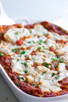 The Best Vegan Lasagna ever! Easy to make, too and packed with protein. The Best Vegan Lasagna ever! Easy to make, too and packed with protein. Veggie Recipes, Whole Food Recipes, Vegetarian Recipes, Cooking Recipes, Veggie Meals, Veggie Dishes, Best Vegan Lasagna Recipe, Healthy Lasagna, Vegan Mac And Cheese