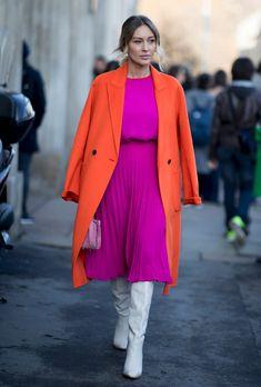 Fashion week in Milan: buongiorno, the street style sophist .- Semaine de mode à Milan: buongiorno, le street style sophistiqué Milan fashion week: buongiorno, the sophisticated street style – Châtelaine - Cool Street Fashion, Look Fashion, Daily Fashion, Autumn Fashion, Fashion Outfits, Womens Fashion, Fashion Tips, Fashion Trends, Fashion Mode