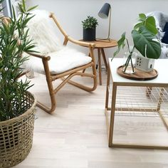 Sostrene Grene nature basket, table lamp, coffee table and apothecary jar by sabinasverden.com #grenehome