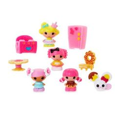 Lalaloopsy Tinies 10 Pack Series 5, Crumb's Bakery, Multicolor