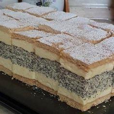 Francia mákos krémes, mióta kipróbáltam ezt a receptet, ez lett a család kedvence!