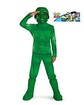Army Toy Sty Green Man Costume - Now you can be your favorite Toy Story character! Toy Story Green Army Man Boys Costume Deluxe includes printed jumpsuit has a helmet, hood . Toy Story Alien Costume, Toy Story Costumes, Toddler Costumes, Boy Costumes, Halloween Costumes For Kids, Costume Ideas, Disney Halloween, Pixar Costume, Halloween Ideas