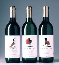 La Mancha Wine Labels commissioned by Lewis Moberly Design PD  #taninotanino #wine #vinosmaximum