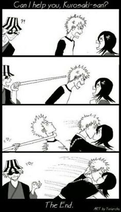 Hahaha, Urahara I appreciate you!lol IchiRuki