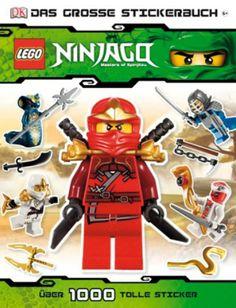 LEGO Ninjago Das große Stickerbuch  http://www.meinspielzeug24.de/lego-ninjago-das-grosse-stickerbuch  #Unisex #Bücher, #SpieleBasteln