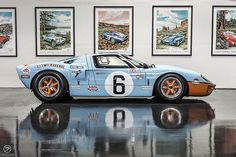 Superformance Ford GT40.  Another picture taking right in our lot!