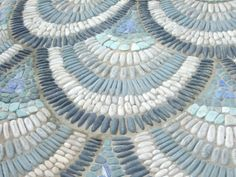 Victorian Aviary Garden pebble mosaic path created by Maggie Howarth - Chelsea Flower Show 2010
