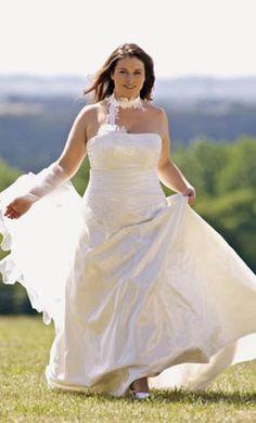 Vestido de novia Préludes 2012 para tallas grandes