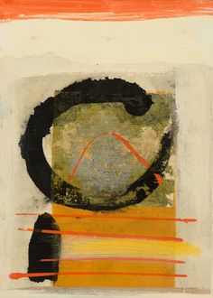 "dailyartjournal:    Susan J. Zimmerman/ everything but the big ole ""C"";  reminds me of a Rothko."