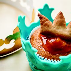 Cupcakes à la frangipane et aux abricots.  Jil Depasse.