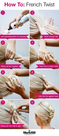 Learn how to add a modern edge to one of the most classic updos, a French Twist.