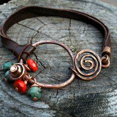 Copper bracelet from GemX Jewelry Design | Square Market