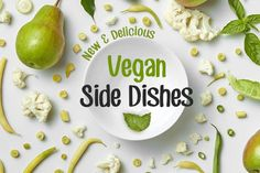 Enjoy these delectable vegan side dishes over the holidays. With 6 different meals to choose from you will have plenty of inspiration before the new year comes. Healthy Holiday Recipes, Vegan Recipes, Vegan Side Dishes, Holiday Side Dishes, Vegan Thanksgiving, Veggies, Vegetarian, Diet, Meals