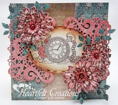 Heartfelt Creations | Floral Pocket Watch from Once Upon A TIme Collection
