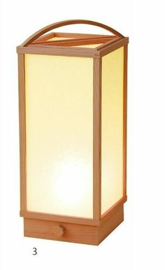 Andon Japanese electric lantern Ceder Handcraft Hida Made in Japan any style