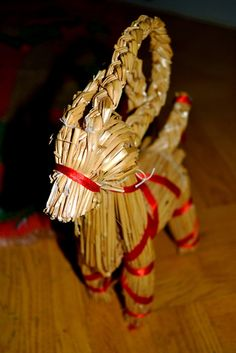 Yule goat, my grandmother always had one of these out for the holidays...