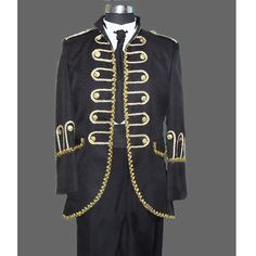 Historical Colonial Period General Outfits Uniforms Clothing Costumes for Men Halloween Masquerade, Masquerade Party, Maskerade Outfit, Period Outfit, Period Costumes, Business Dresses, Dress Suits, Double Breasted, Mens Fashion
