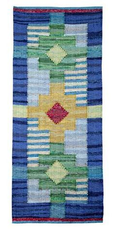 Sara Hotchkiss : Hand Woven Rugs : Display and For Sale