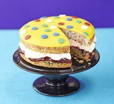 Spotty Pudsey cake