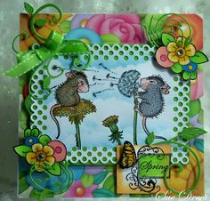 House-Mouse & Friends Monday Challenge: HMFMC #142 - Springtime Midway Reminder