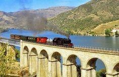 Comboio Histórico do Douro. Porto, Portugal