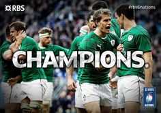 Ireland have done it. They are the 2014 #rbs6nations Champions!!!!