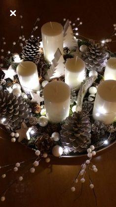 Der Tannenzapfen kommt zu Weihnachten - Home Decoration Ideas - Classy Christmas, Noel Christmas, Rustic Christmas, Winter Christmas, Christmas Crafts, Magical Christmas, Christmas Ideas, Christmas Tables, Nordic Christmas