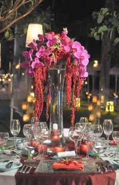 Table Set Up | Bali Wedding Flowers