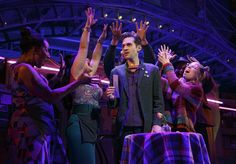 AMELIE, A NEW MUSICAL, is currently in previews and will officially open at the Walter Kerr Theatre (219 W 48th Street) on April 3, 2017. BroadwayWorld has a whimsical first look at the cast in action below!