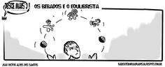 RABISCOS ENQUADRADOS: DESCE MAIS 3! Nº 203,5: MALABARISMO