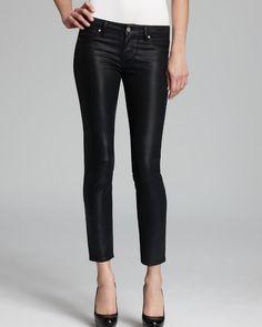 PAIGE DENIM Verdugo Ankle Ultra Skinny Jeans Black Silk Sz 31 $209 FTC #3181