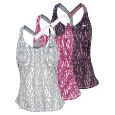 TheNikeWomen's Printed Knit Tennis Tankis just what you need to update your tennis wardrobe! Classic racerback tank in stretch Dri-FIT fabric creates a slimming silhouette and added presence on the court with its modern graphic print. Built-in mesh bra offers shape and support.Technical Benefits:Dri-FITFabric: 92% Polyester / 8% Spandex Plain JerseyFor information regarding sizes, please refer to oursizing chart.