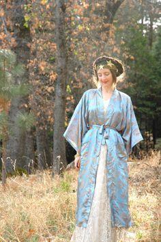 0f8d49ea14 Asian Kimono Robe... Vintage Kimono.