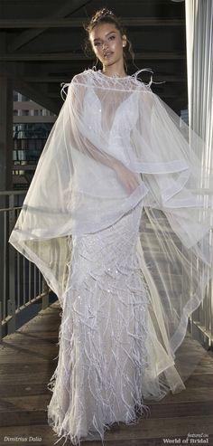Dimitrius Dalia 2018 Wedding Dresses - World of Bridal Bridal Wedding Dresses, Designer Wedding Dresses, Wedding Attire, Tulle, Dress Attire, Most Beautiful Dresses, Event Styling, Bridal Collection, High Fashion