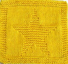 Knitting Cloth Pattern LITTLE STAR PDF by ezcareknits on Etsy, $2.85
