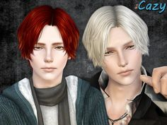 The Sims 3 Hair Resource is a database of all custom hair for The Sims both the original creation and the various retextures and alpha edits. Sims 4 Hair Male, Sims 4 Male Clothes, Sims Hair, Male Hair, Guy Hair, Sims 4 Teen, The Sims, Sims Cc, Cc Shopping Sims 4