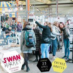 Morgen @swan_market in Tilburg. #spoorzone #swanmarket #woordkunsten