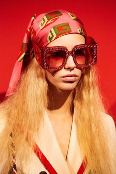 6655da38dba6 All the Beauty You Didn t See on the Gucci Runway By Christine Hahn Photo