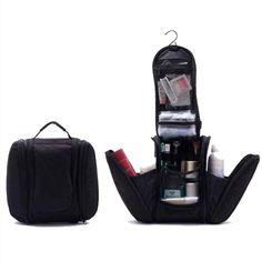 Hanging Shower Bag with Side Pockets